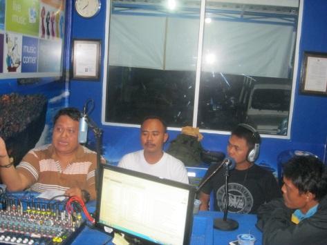 Wawancara dengan Radio Pacitan
