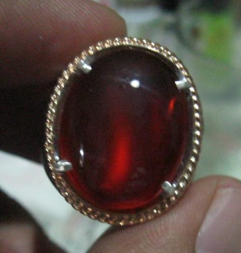 Red Baron serat Sulaiman, Punggung Kura-Kura dan Cat's Eye, jika dibalik ada Ring-nya