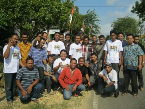 Pertemuan Pertama Tim Precious Indonesia di Donorojo 19 Oktober 2013