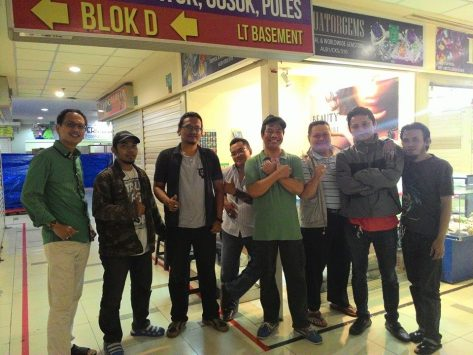 Precious Indonesia di Blok M dengan Mr. Temon