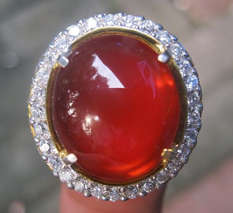 Bangsawan Merah (Red Baron) Pacitan Natural Kualitas Alami
