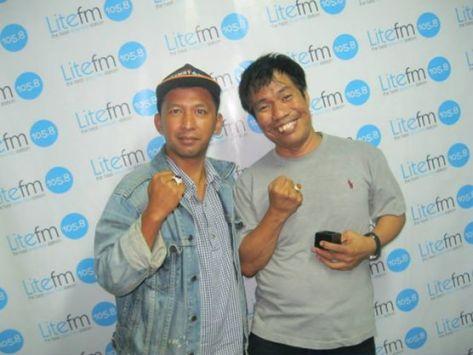 Andi Pacitan dengan Temon di Lite FM - Jakarta