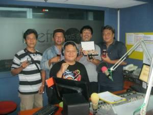 Tim Precious Indonesia diwawancarai oleh Radio Lite FM (bersama Sammy dan Andi Pacitan)