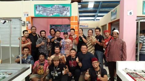 Komunitas Sentra Batu Akik dan Permata Indonesia Pasar Segar Depok