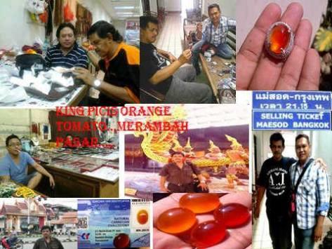 Perjuangan Kang Arwan Batuakik mempopulerkan Batuan Keladen ke Thailand
