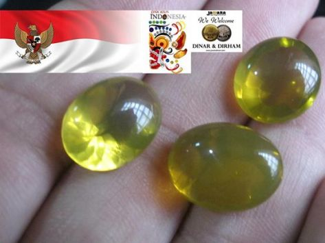 Indonesian Fire Opal Supernova - Yellow Colour