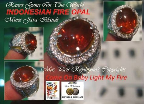 Indonesian Fire Opal